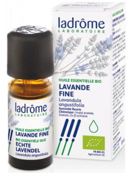Huile essentielle bio Lavande Fine 10 ml Ladrôme calme et sérénité Abcbeauté
