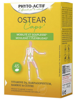 Ostear 45 Capsules Phyto-Actif articulaire Abcbeauté