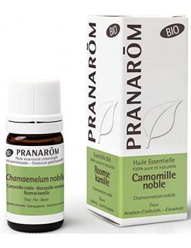 Huile essentielle Camomille noble Bio compte gouttes 5ml Pranarôm camomille romaine Abcbeauté