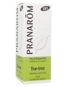 Huile essentielle Tea Tree Bio 10ml Pranarôm arbre à thé Abcbeauté
