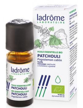 Huile essentielle bio Patchouli 10 ml Ladrôme régénérante tonifiante Abcbeauté