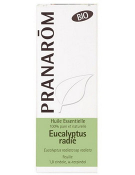 Eucalyptus radiata Bio 10ml Pranarom aromathérapie Abcbeauté