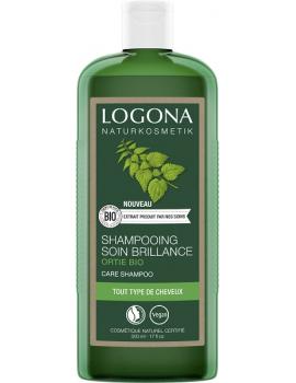 Shampooing brillance ortie 500 ml Logona silicium organique souplesse et nutrition Abcbeauté