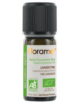 Huile essentielle bio Lavande Fine 10 ml Florame lavande vraie lavandula angustifolia Abcbeauté