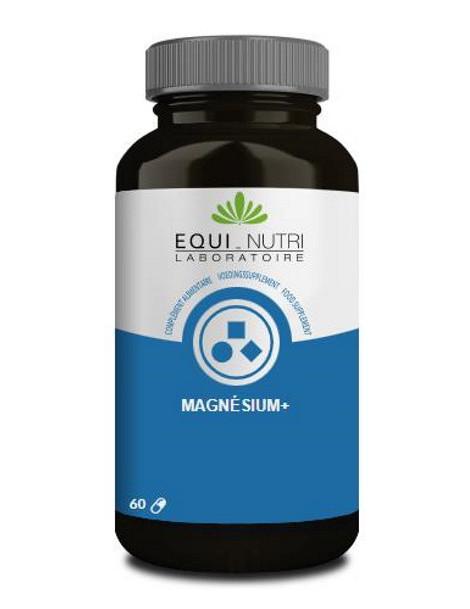 Magnésium + - 60 gélules Equi Nutri stress nervosité abcbeauté