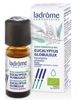 Huile essentielle bio Eucalyptus globulus 10ml Ladrôme antiseptique balsamique Abcbeauté