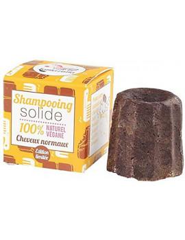 Shampooing solide Cheveux normaux chocolat 55 gr Lamazuna shampoing écologique Abcbeauté