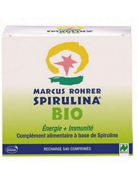 Recharge Spiruline Bio Energie Immunité Bio 540 comprimés Marcus Rohrer