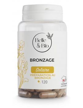 Bronzage naturel Bixa Carotte Bourrache 120 gélules Belle et Bio protection solaire par voie orale Abcbeauté