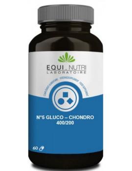 Glucosamine Chondroïtine 400/200 60 gelules Equi - Nutri