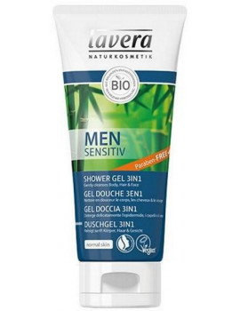 Gel douche 3 en 1 for Men Sensitiv 200 ml Lavera