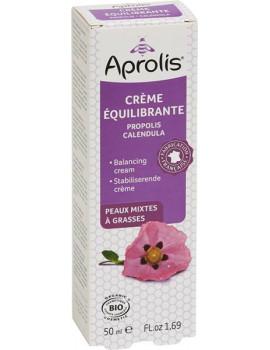Crème Equilibrante Propolis Calendula bio 50ml  Aprolis auto-géulation anti-irritations Abcbeauté