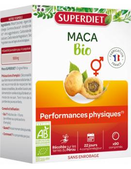 Maca bio Super Diet - 90 comprimés vitalité Abcbeauté