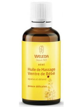 Huile de massage Ventre de bébé 50 ml Weleda digestion douloureuse Abcbeauté