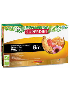 Ginseng Protect bio 20 ampoules Super Diet