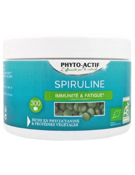Spiruline Phyto-Actif - 300 comprimés de 500 mg immunité Abcbeauté