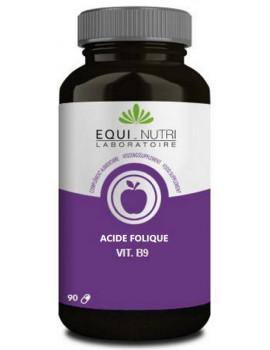 Vitamine B 9 Acide Folique - Equi-Nutri -  500mcg 90 gélules abcbeauté
