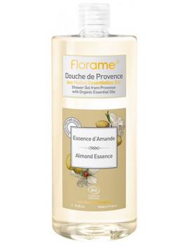 Gel Douche de Provence Essence d'Amande 1 litre Florame corps et cheveux Abcbeauté