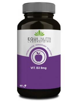 Vitamine B3 Niacine Equi-Nutri - 90 gélules pellagre vitamines du groupe B Abcbeauté