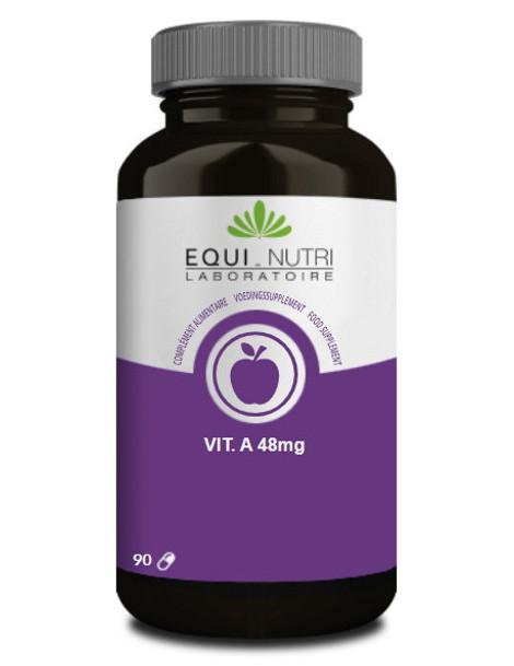 Vitamine A beta carotene naturel 90 gelules Equi-Nutri antioxydant protection cellulaire Abcbeauté