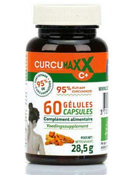 Curcumaxx C Plus 60 gélules Bio 95 pour cent Biocible complexe articulaire bio Abcbeauté
