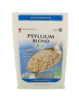 Ispaghul psyllium blond 200 gr Vecteur Santé fibres solubles transit et digestion Abcbeauté