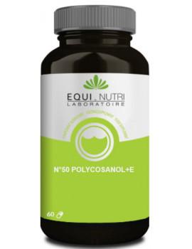Polycosanol et E Laboratoire Equi-Nutri - 60 gélules abcbeauté cholestérol sanguin