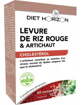 Levure de Riz rouge Diet Horizon - 60 comprimés Abcbeauté