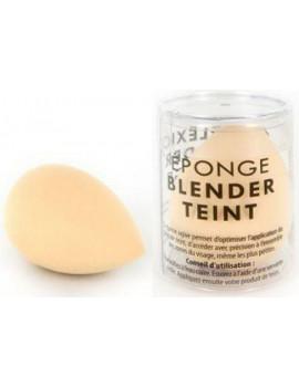 Eponge blender teint Couleur Caramel maquillage minéral du teint hâle naturel Abcbeauté