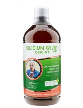 Silicium G5 original liquide 1000ml Silicium Espana oligo-élément de structure silicium biodisponible Abcbeauté
