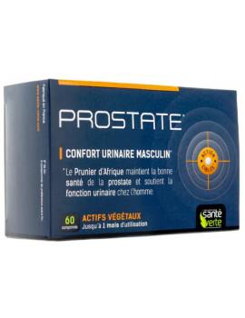 Prostate 60 comprimés Santé Verte confort urinaire masculin racine d'ortie pygeum Abcbeauté
