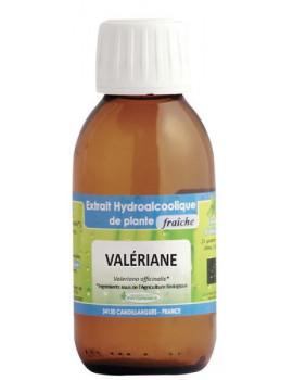 Extrait hydro alcoolique Valériane BIO 125ml Phytofrance sommeil sérénité Plante fraîche Abcbeauté