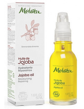 Huile de Jojoba Hydratante Réparatrice 50 ml Melvita SIMMONDSIA CHINENSIS (JOJOBA) SEED OIL Abcbeauté