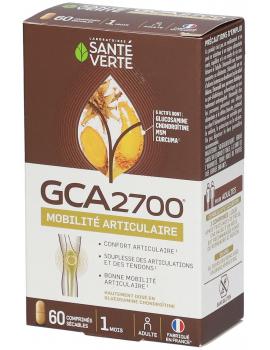 GCA 2700 Glucosamine Chondroitine 60 Comprimés Santé Verte MSM curcuma harpagophytum Abcbeauté