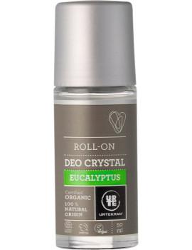 Déodorant bille Deo Crystal Eucalyptus 50 ml Urtekram deodorant bio Abcbeauté pierre d'alun
