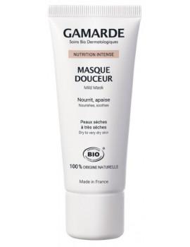 Nutrition Intense Masque douceur peaux sèches à très sèches 40 gr Gamarde masque anti-âge et hydratant Abcbeauté