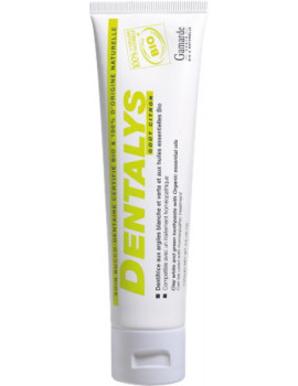 Dentifrice Dentalys Argile Goût Citron Tube 100 gr Gamarde dentifrice bio certifié kaolin citron orange Abcbeauté