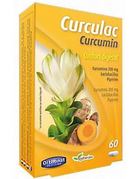 Curculac Curcumin Confort Digestif 60 gélules Orthonat Nutrition curcuma poivre lactobacillus sporogenes Abcbeauté