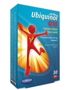 Ortho Ubiquinol Q10 30 capsules Orthonat Nutrition coenzyme q10 antioxydant fort Abcbeauté