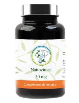 Nattozimes 1225 FU Gastro resistant 60 gélules Planticinal nattozime nattokinase cardiovasculaire Abcbeauté