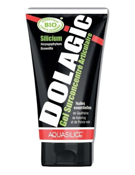 Dolagic Gel surconcentré articulaire 150 ml Aquasilice gel de massage chauffant articulations sport Abcbeauté