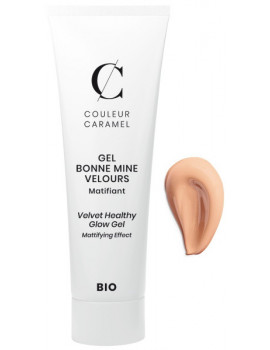 Gel Bonne mine Velours No 61 Sable Chaud 30ml Couleur Caramel maquillage bio Abcbeauté