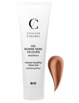 Gel Bonne mine Velours No 63 Caramel 30 ml Couleur Caramel teinte pour peaux hâlées Abcbeauté