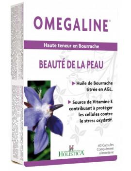 Omegaline Acide Gamma-Linolenique (AGL) - 60 capsules Holistica