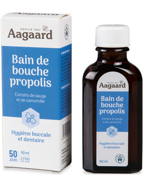 Bain de Bouche 50 ml Aagaard Abcbeauté