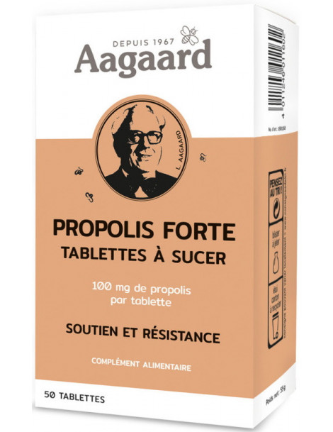 Propolis forte 50 tablettes Aagaard