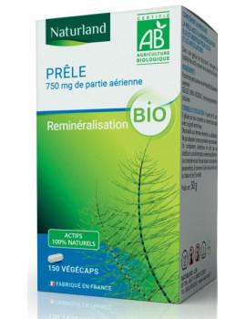 Prêle Bio 150 Gélules Végécaps Naturland silice silicium Abcbeauté