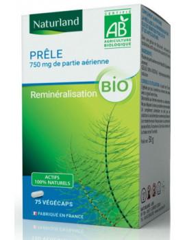 Prele 75 gélules Végécaps Naturland silicium organique Abcbeauté
