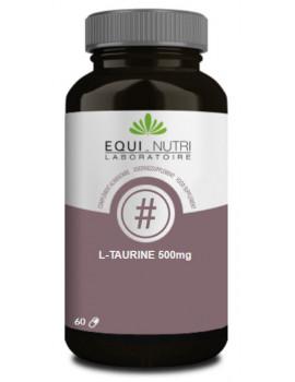 L-Taurine Equi-Nutri  - 60 gélules acide aminé soufré abcbeauté