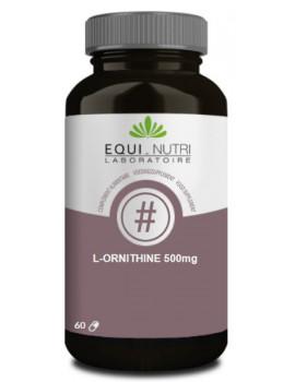 L-Ornithine 500 Equi-Nutri - 60 gélules acide aminé croissance abcbeauté
